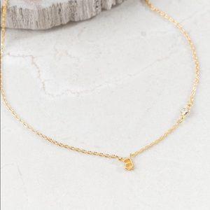 "💫14k Gold ""A"" Necklace"